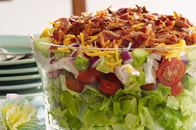 Layered Cobb Salad