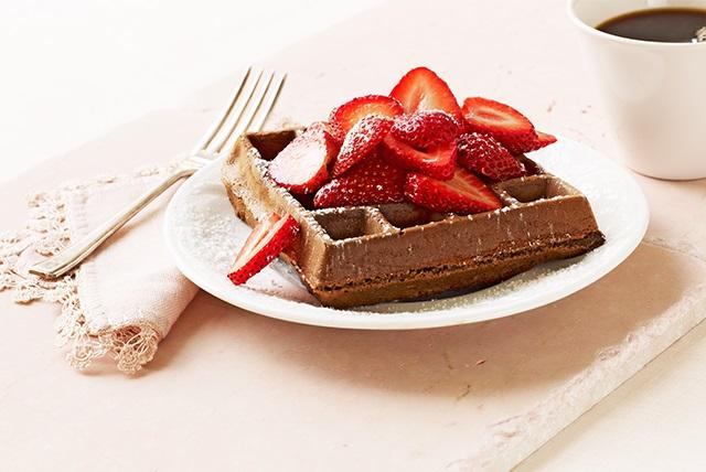 Chocolate Belgian Waffles